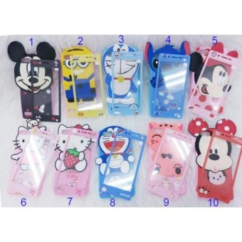 Softcase Karakter 4Dimensi BONEKA TIMBUL FOR VIVO Y53 Free Tempered Glass Motif Senada Case - MSC