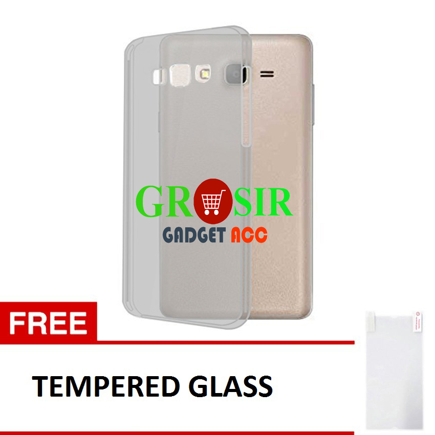 Softcase Samsung Galaxy On 7 Ultrathin Aircase Abu Trabsparant Tempered Glass Lazada Indonesia .