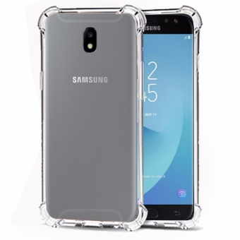 Softcase Silicon Anti Shock / Anti Crack Elegant Softcase  for Samsung Galaxy J3 Pro 2017 (J330) - White Clear