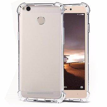 Softcase Silicon Anti Shock / Anti Crack Elegant Softcase for Xiaomi Redmi 3s Pro - White