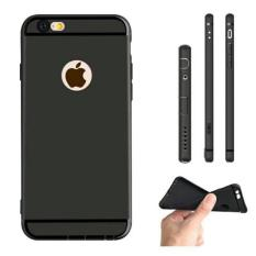 Softcase Ultra Thin Silicone Slim Black Edition iPhone 5 / 5S