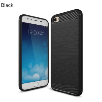 SoftShell Carbon Fiber Compatible For Oppo F3 Plus soft Case