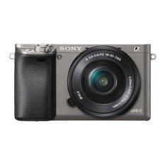 Sony Alpha A6000 Kamera Digital Mirrorless - Lensa 16-50mm - 24.3MP - Grey
