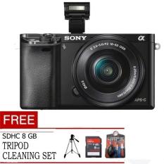 Sony Camera Mirorless - ILCE-5000 - Hitam