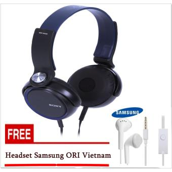 harga Sony DJ Headphone Super Bass ORIGINAL XB-400 On-Ear-Free Headset Samsung ORI Vietnam In-Ear Lazada.co.id