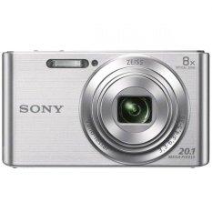 Sony DSC-W830 - 20.1 MP - 8x Optical Zoom - Silver