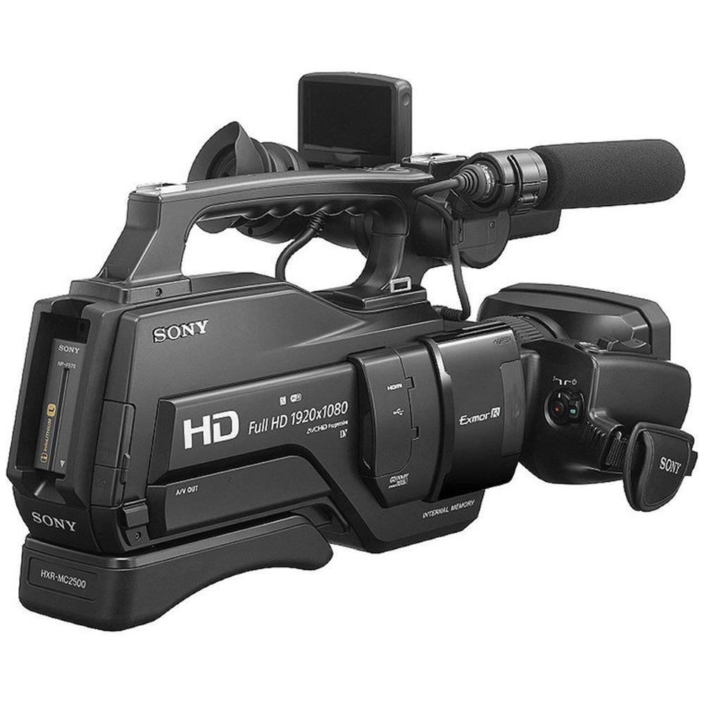 Terbaik Murah Sony Hxr Mc2500 Shoulder Mount Avchd Camcorder Hitam Fdr Ax40 Garansi Resmi