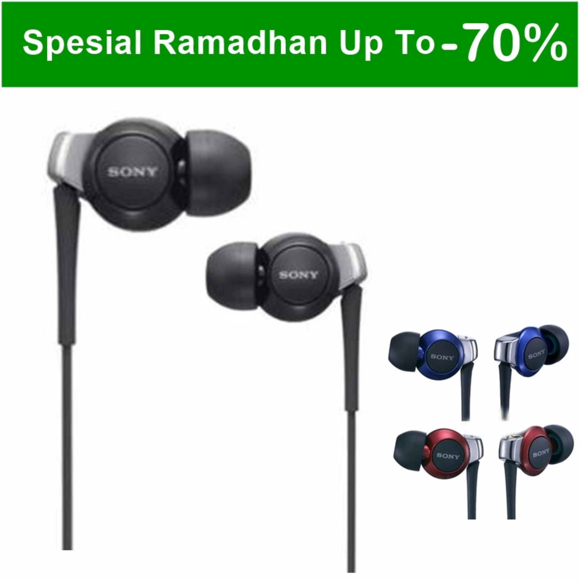 Flash Sale Sony MDR-EX300AP Earphones Big Bass - Hitam