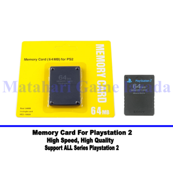 Sony Memory Card For Playstation 2 - Original - 64Mb