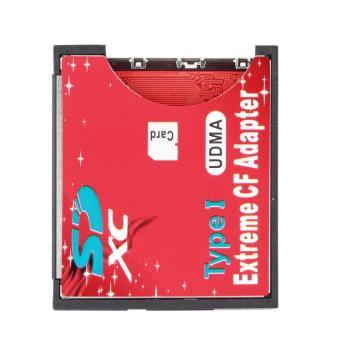 CHEER Kartu Memori Digital Yang Aman Ke Pembaca Kartu Memori Flash CF Adaptor