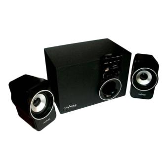 SP Advance M180BT Bluetooth Speaker - Hitam [Subwoofer System]