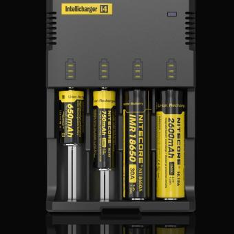 SP Nitecore Intellicharger Universal Battery Baterai Batre Charger Camera Kamera 4 Slot for Li-ion and NiMH - i4 AA AAA - 2