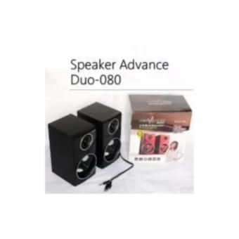 Speaker Komputer USB Advance Duo-080 With Volume Control - 3