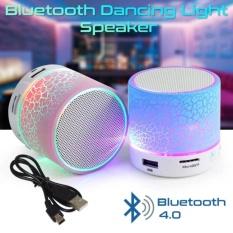 Speaker Mini Portable Bluetooth Wireless With Superbass Stereo LED - Random