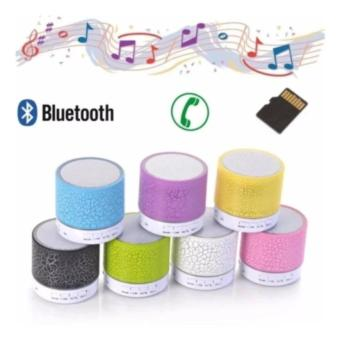 Speaker Mini wireless Bluetooth Superbass Stereo LED-Multi Colour -PM2902