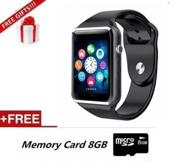 Detail Gambar Sport Bluetooth A1 Smart Watch With Camera MP3 SmartWatch ForAndroid iOS - intl Terbaru