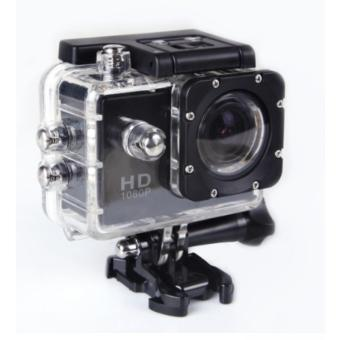 Harga Sports Cam Action Camera Sport 1080P H264 Full HD DV No-WiFi - Hitam