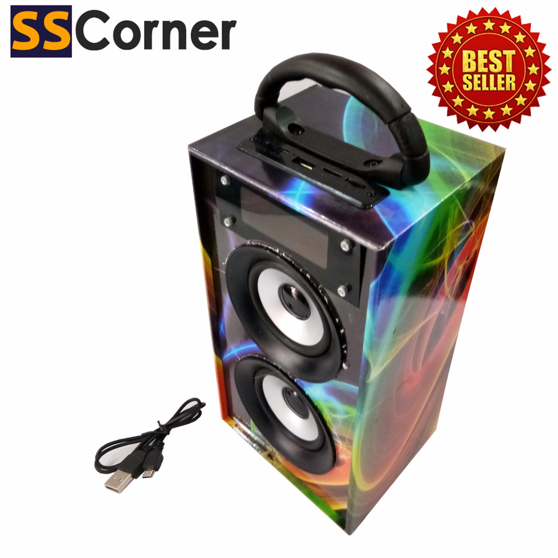 SS Corner Multimedia Speaker Oplus Portable box BGH70 Dj Super Bass. Click image for Gallery