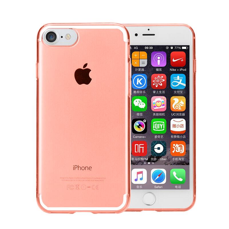 St platinum iphone7/7plus transparan penurunan resistensi lengan silikon shell telepon