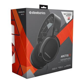 harga SteelSeries Arctis 3 with 7.1 DTS Headphone:X Black Lazada.co.id