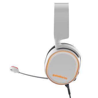 SteelSeries Arctis 5 with 7.1 DTS Headphone:X White RGB - 3