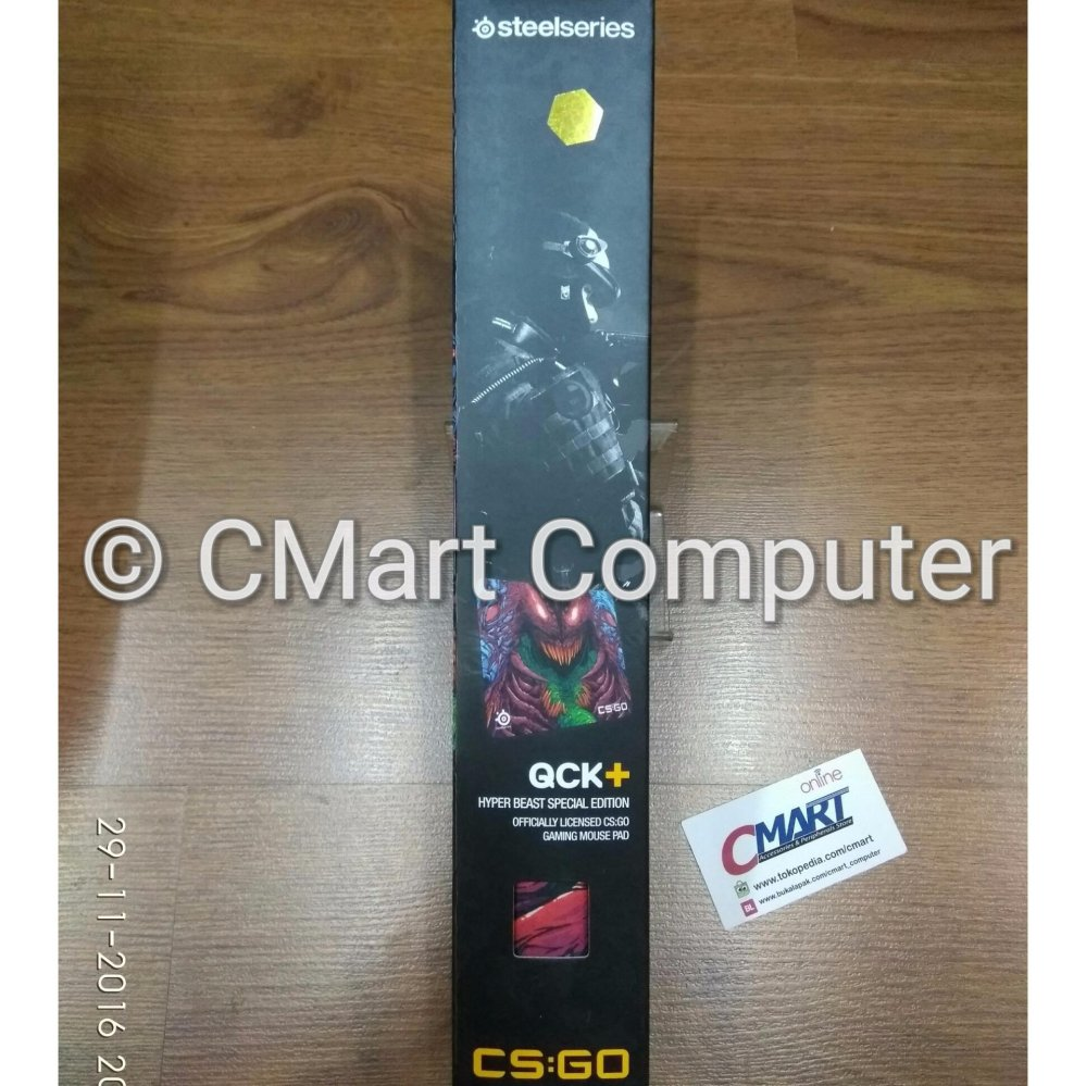 Daftar Harga Steelseries Qck Csgo Hyper Beast Edition Gaming W 450 X L 400 H 2mm Mousepad 63800