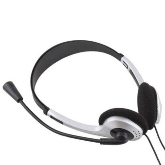 Stereo Headphone Headset Earphone with Mic for PC Laptop ComputerUniversal New - intl