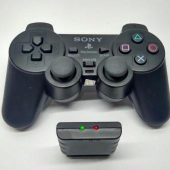 Stick PlayStation 2 Wireless PS2 Controller (Black)