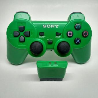 Stick PlayStation 2 Wireless PS2 Controller Green
