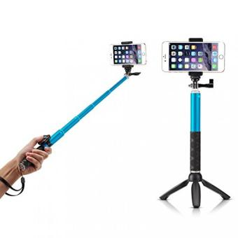 Stick Selfie Monopod And Tripod + Bluetooth Camera Shutter