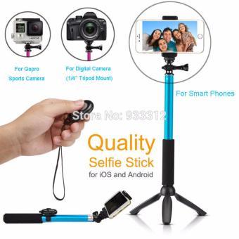 Stick Selfie Monopod And Tripod + Bluetooth Camera Shutter