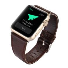Strap Apple Leather - Strap Jam Tangan Apple Watch - Kulit - Unisex - Fashionable - Series 1 & 2 [ 42 mm ]