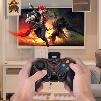 T3- Bluetooth Wireless Game Controller Gamepad Joystick for iOSAndroid Cellphone Tablet TV Box - intl