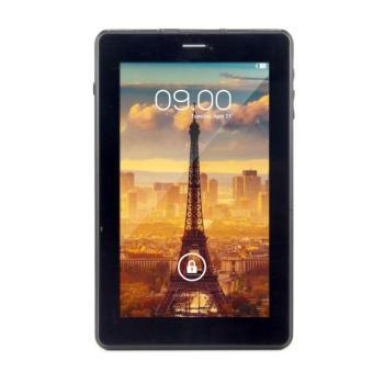 Tablet Android Treq 3G Turbo - Dual Core Dual SIM Card 1GB RAM 8GB Internal Dual Camera - Black
