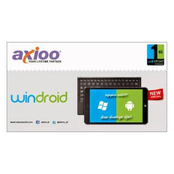TABLET AXIOO WINDROID 7G DUAL OS ANDROID WINDOWS