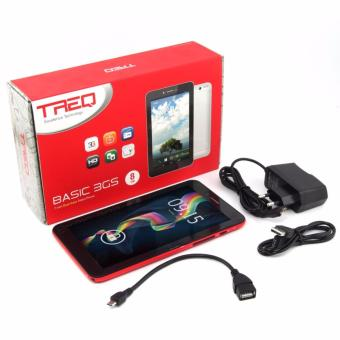 """Tablet Treq Basic 3gs Obral Murah Dual Sim TV Analog Ram 512 Rom 8gb Layar 7"""""""