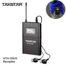 Takstar WTG-500/R UHF Wireless Tour System Guide Receiver+InEarEarphone - intl