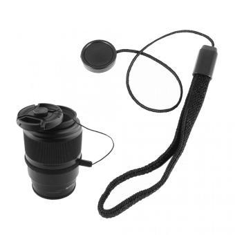 Tali Tutup Lensa Kamera Anti Lost Lens Cap Strap - Black - 2