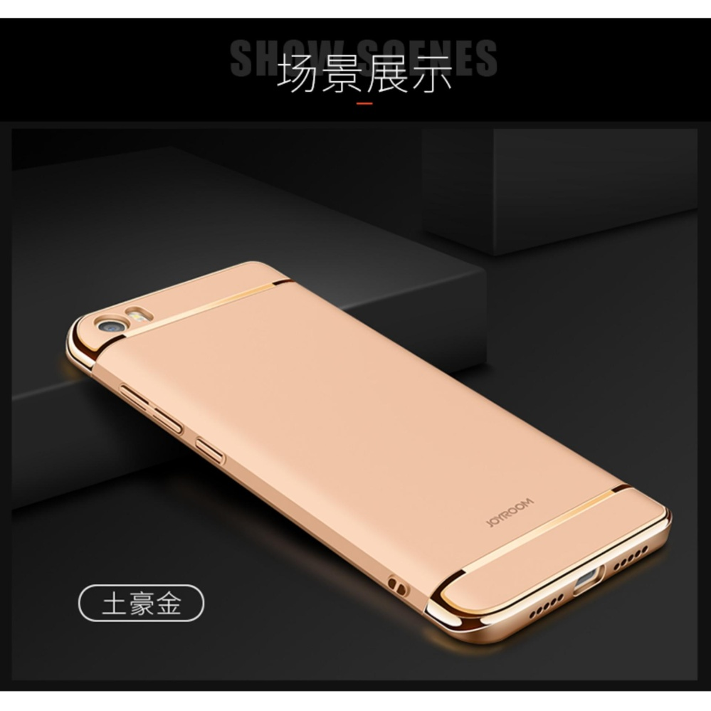 Taoyi 3 In 1 Ultra Thin and Slim Hard Case Shockproof Electroplate Frame for Xiaomi Mi ...