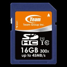 Team SD Card UHS-1 45MB/s SDHC 16 GB SDCard