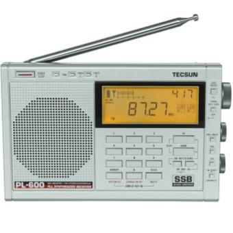 Belanja Terbaik TECSUN full band FM/AM radio receiver PL-600 - intl Harga Saya