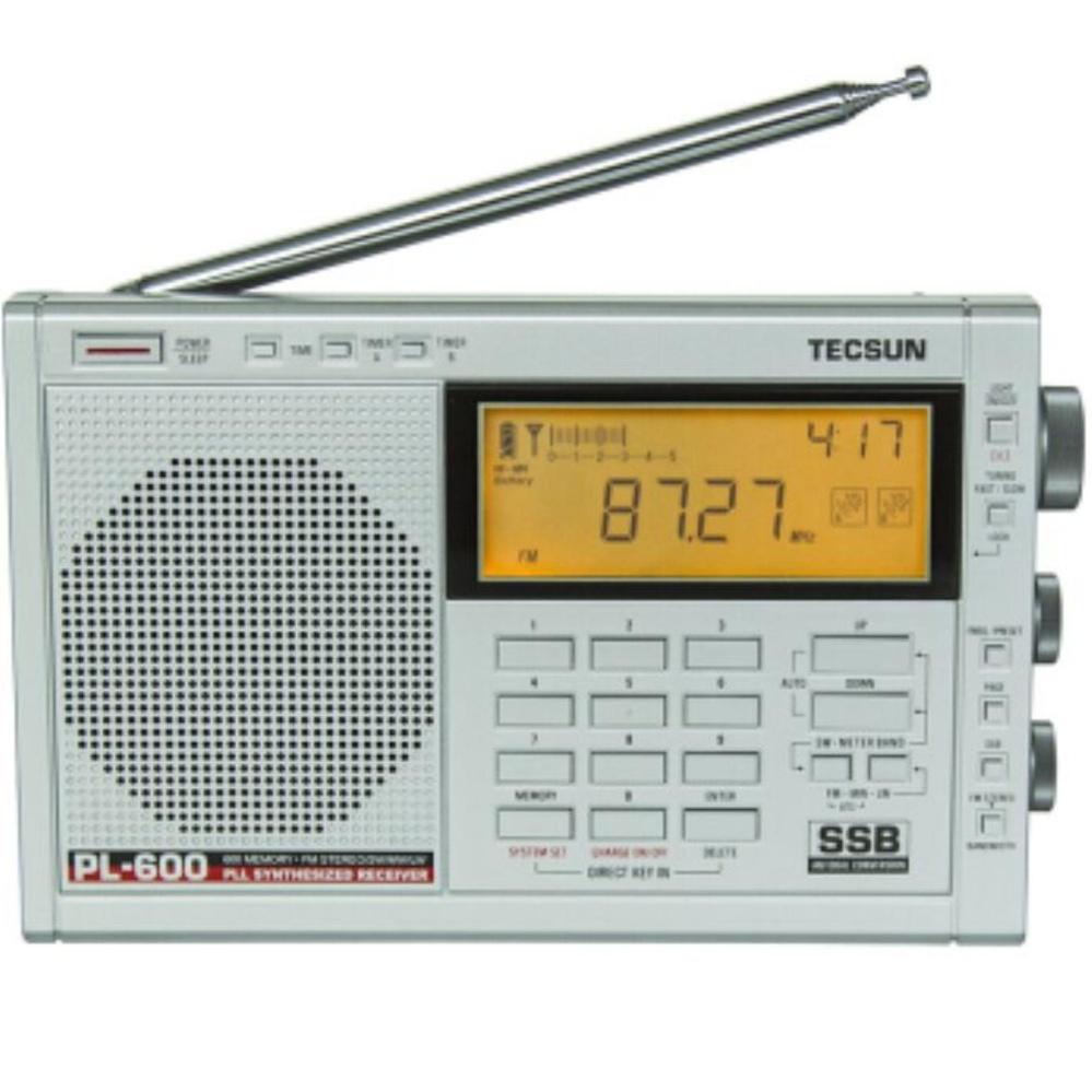 ... TECSUN full band FM/AM radio receiver PL-600 - intl ...