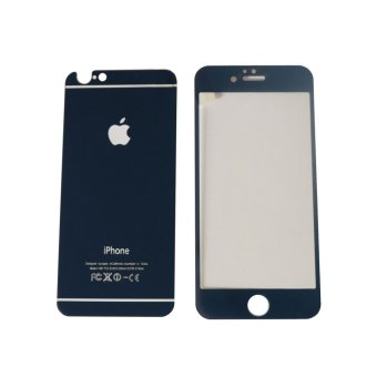 Tempered Glass 2in1 Mirror Glossy For Apple iPhone 6 Plus / Iphone6Plus Ukuran 5.5 Inch/