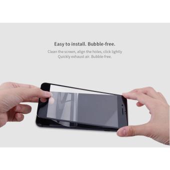 Detail Gambar Produk Tempered Glass 3D Full Layar Black iPhone 7 plus Terbaru
