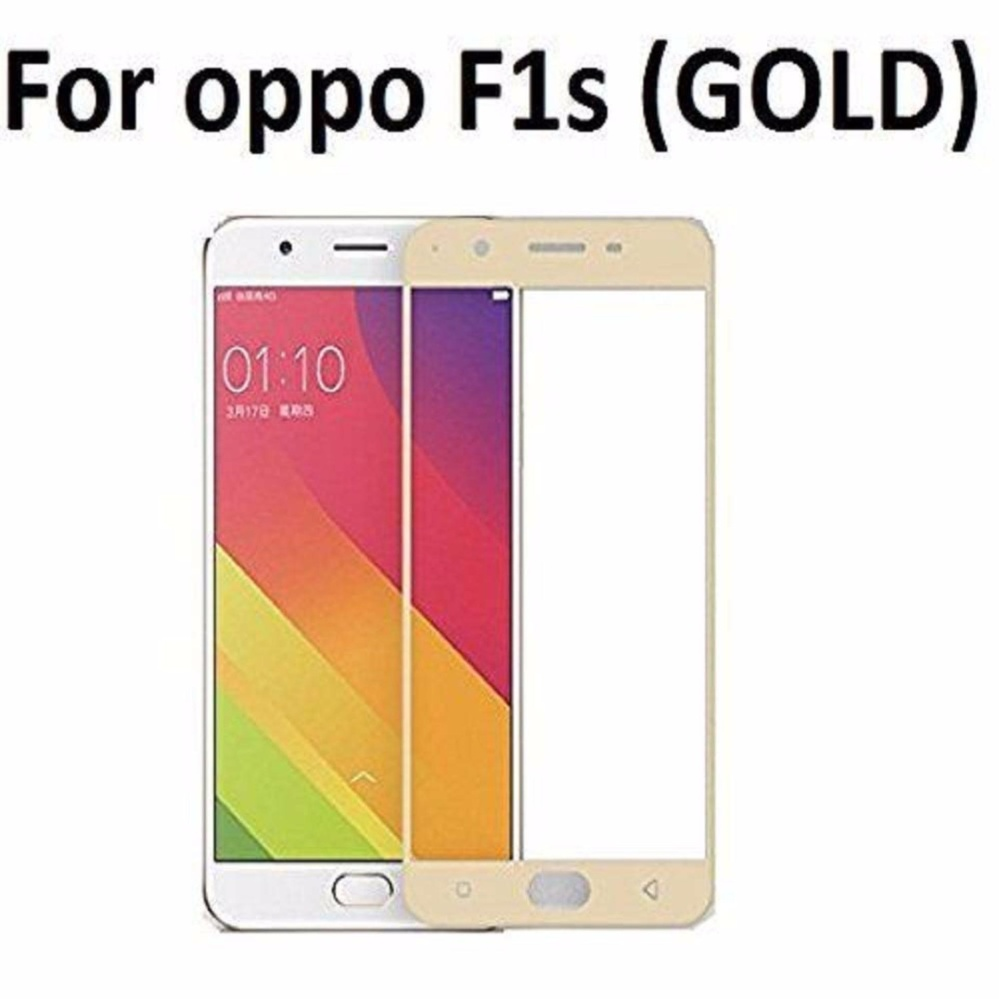 Review of Tempered Glass For Oppo F1S Selfie Expert A59 9H Full Screen Gold Screen Anti