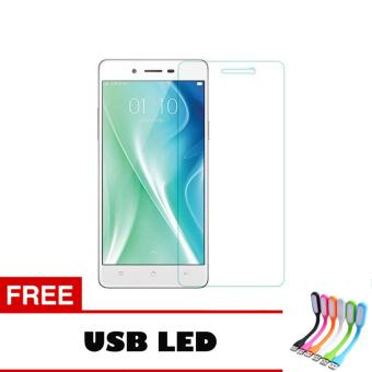 Tempered Glass For Oppo Neo 9 A37 Ultra Screen Protector + Free UsbLed