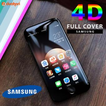 Tempered Glass Full Cover 4D Samsung Galaxy J7 Prime Screen Protector / Anti Gores / Anti