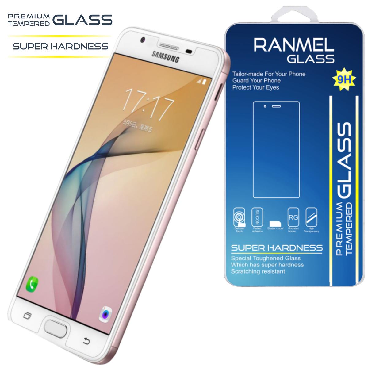 ... Ranmel Glass Tempered Samsung Galaxy C5 Premium Tempered Glass Source Anti Gores Kaca