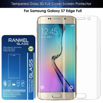 Tempered Glass Ranmel For Samsung Galaxy S7 Edge Full - Anti Gores - Clear