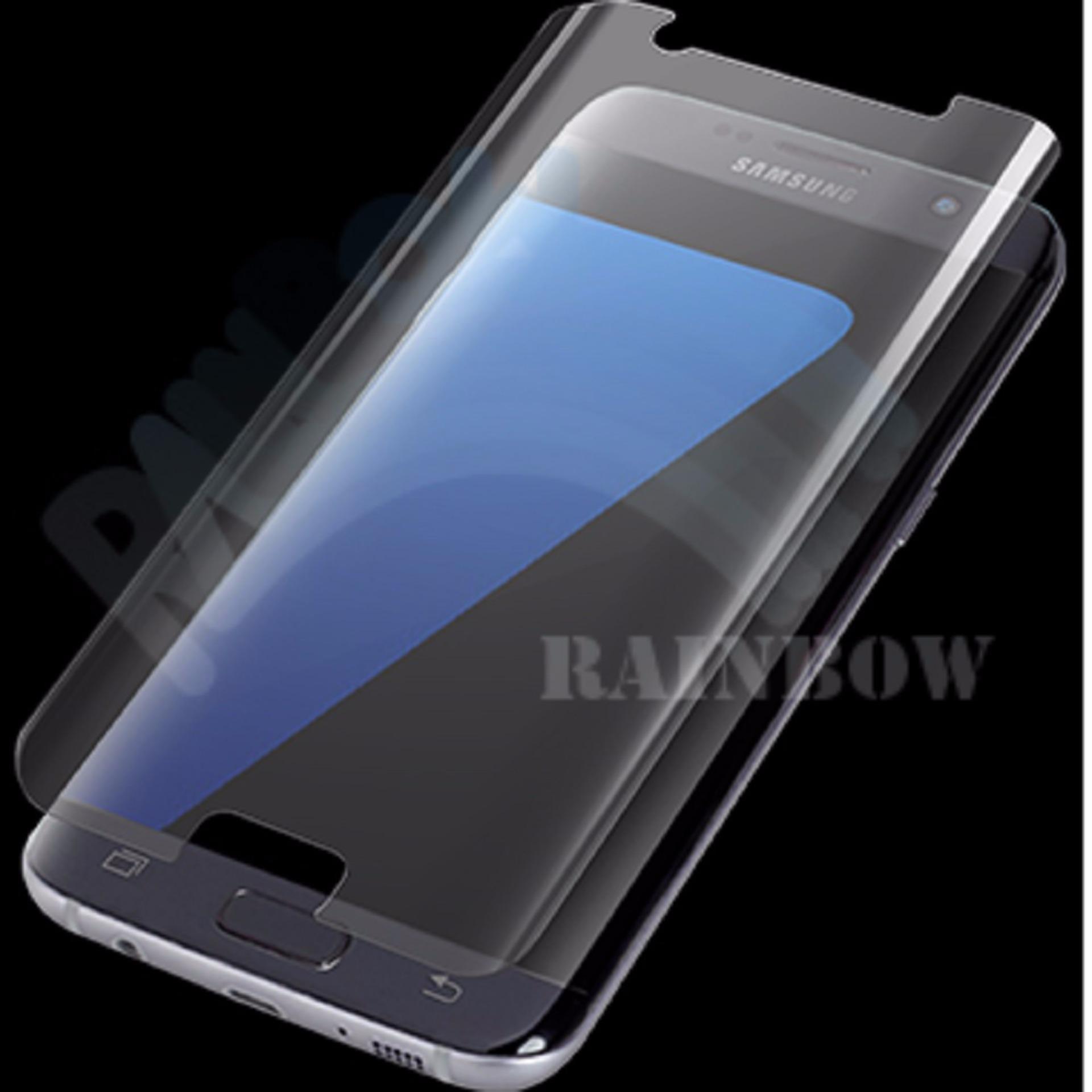 Screen Guard Tempered Glass Anti Gores Kaca Samsung Galaxy J7 2016 Shock Protector S7 Edge Full Depanbelakang Cover Curve Melengkung9h